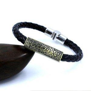 I love DAD braided Magnet Bracelet